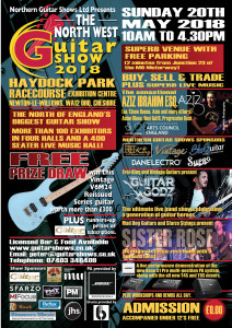 North West Guitar Show 2018